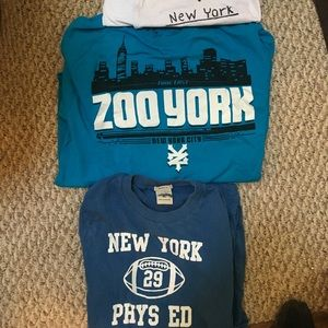 3 New York Inspired Shirts for every age